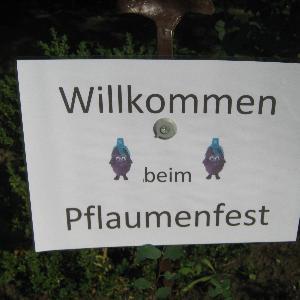 Pflaumenfest