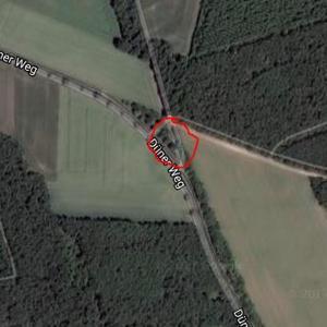kleiner Parkplatz zwischen Meppen und Haren