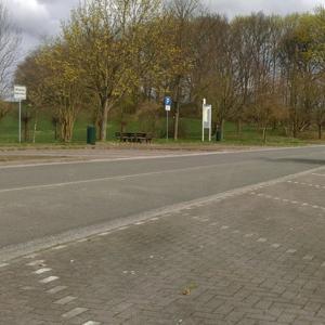 Parkplatz zum zusehen und gesehen werden