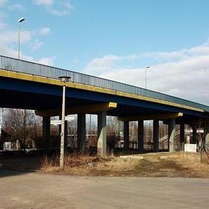 S-Bahn Brücke an der Gehrenseestrasse
